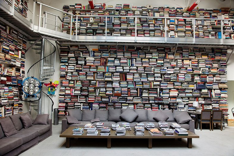 Karl Lagerfeld's Private Library