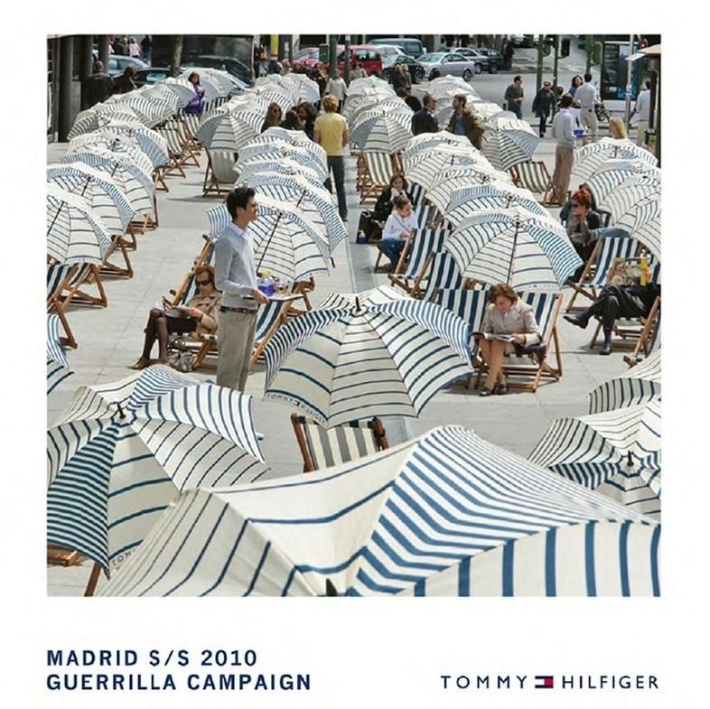 Tommy Hilfiger Madrid S/S10 Guerilla Campaign