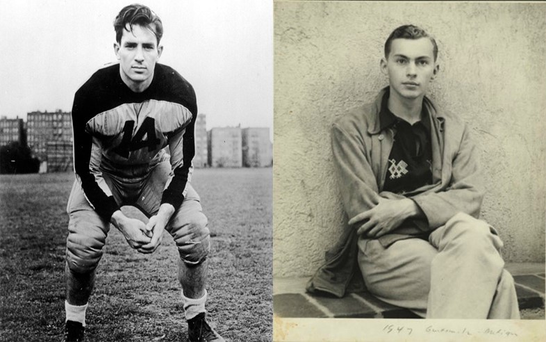 Jack Kerouac and Gore Vidal