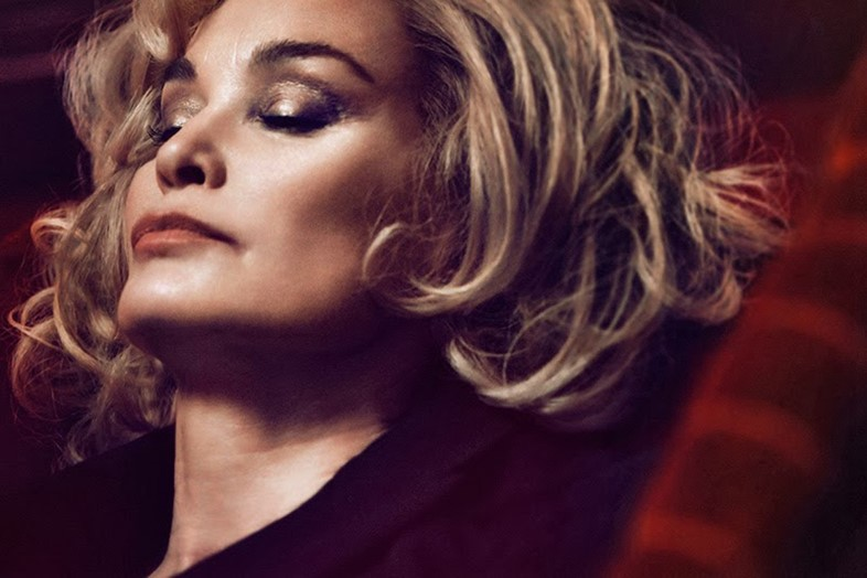 Jessica Lange in Marc Jacobs Beauty