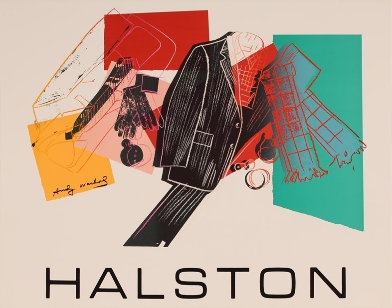 Andy Warhol, Poster (Halston Advertising Campaign: Men's Wea