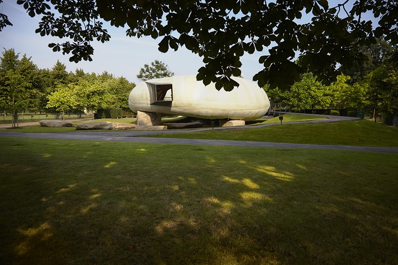 Serpentine Gallery Pavilion 2014 designed by Smiljan Radić