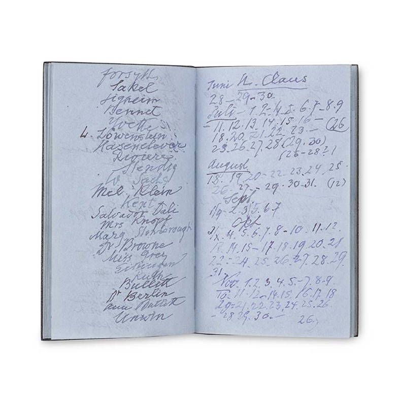 Sigmund Freud's Panama Notebook, 1938