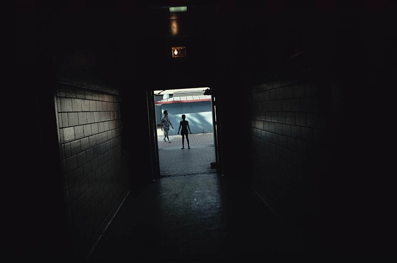 Joseph Rodriguez, Jefferson Pool entrance, Spanish Harlem, N