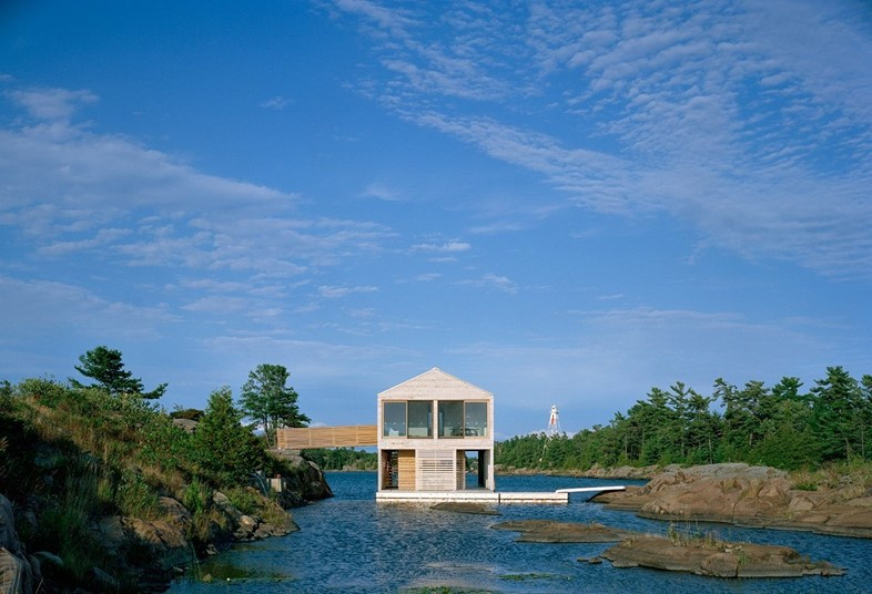 Floating House, Ontario, Canada, 2005