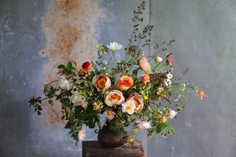 Arrangment by Erin Benzakein & Family of Floret