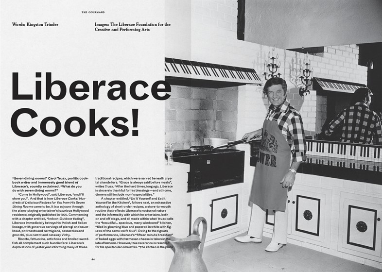 The Gourmand, Issue 5 – Liberace Cooks,