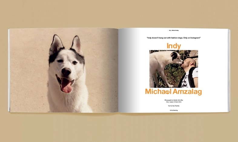 The Printed Dog, Issue 1 – Indy + Michael Amzalag