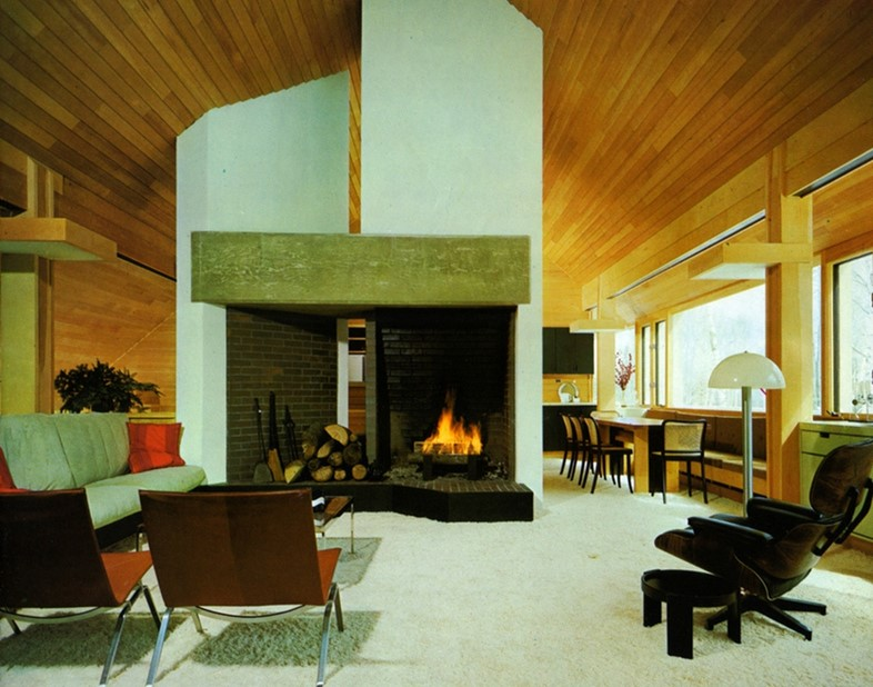 Fireplace by Huygens and Tappe from The Architectural Record