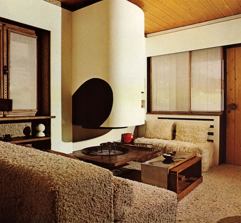 Interiors For Today, 1974, by Franco Magnani