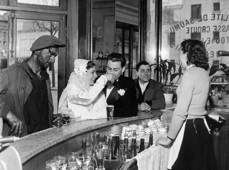 Black and White Coffee Joinville-le-Pont, 1948