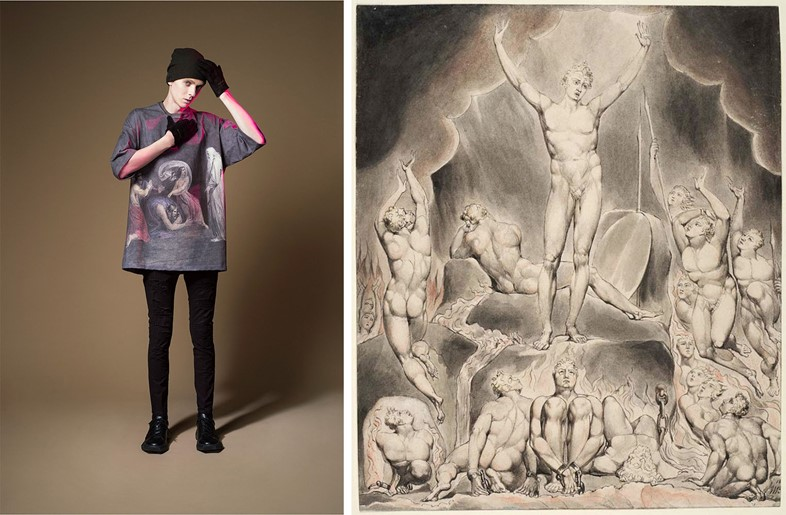 Undercover A/W15 / William Blake, Illustrations to Paradise