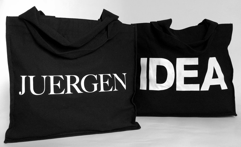 The IDEA 'Juergen' Bag, front and back