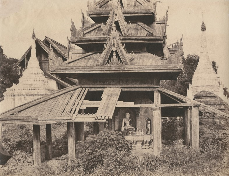 Tsagain Myo, Ruined Tazoung, Burma, 1855