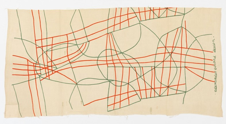 Textile, Wires, 1947