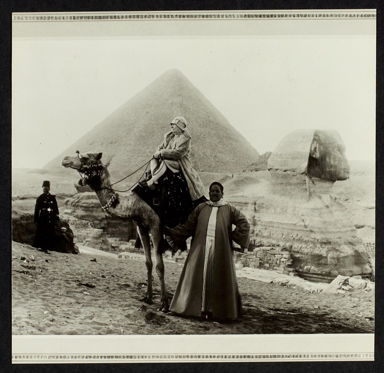 Jeanne Lanvin in Egypt