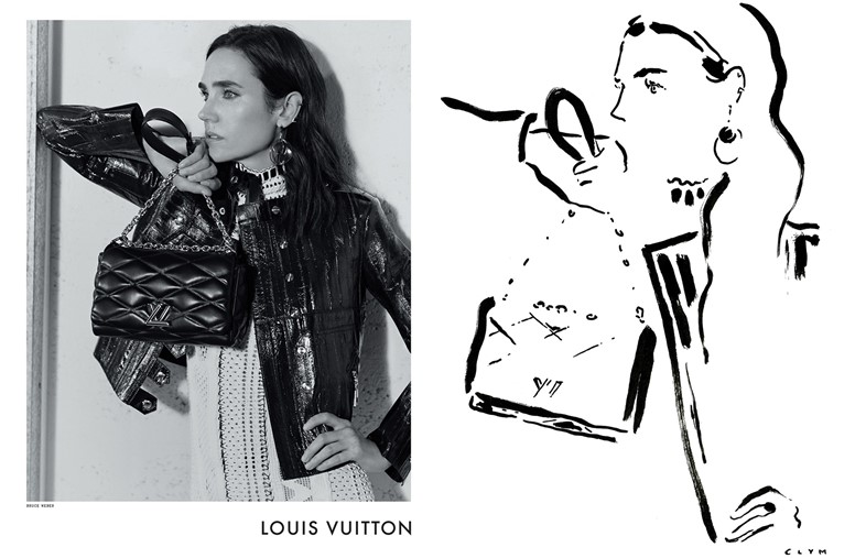 Jennifer Connelly for Louis Vuitton S/S15