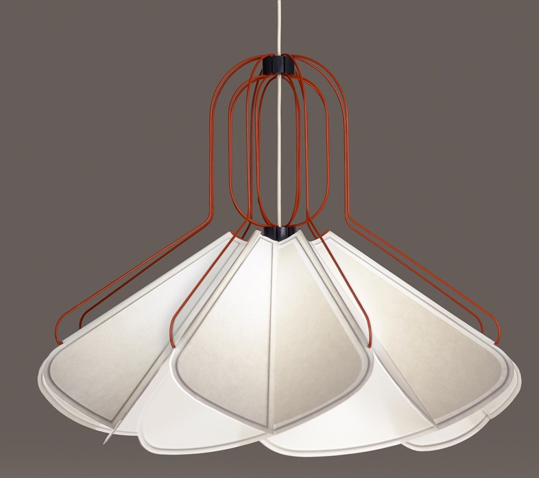 Concertina Lamp by Raw Edges