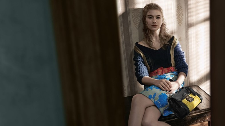 Imogen Poots for Miu Miu S/S15
