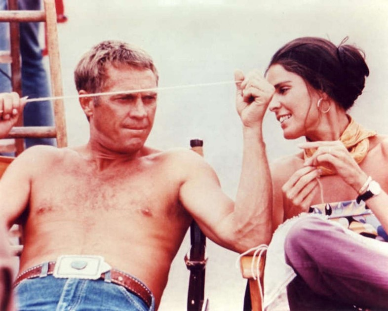 Steve McQueen and Ali MacGraw in The Getaway