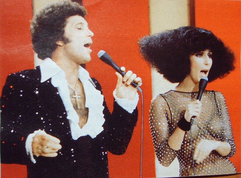 Tom Jones and Cher, 1976