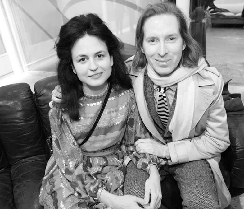 Juman Malouf and Wes Anderson