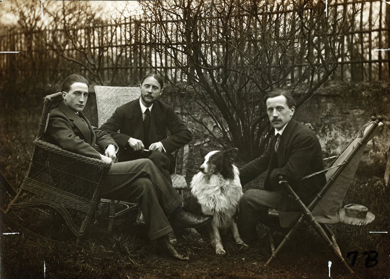 Marcel Duchamp, Jacques Villon, and Raymond Duchamp-Villon