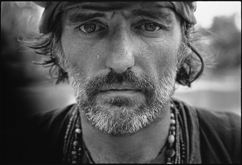 Dennis Hopper on the set of Apocalypse Now, Pagsan