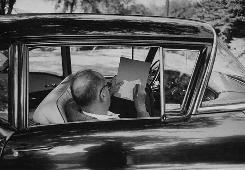 Nabokov reading