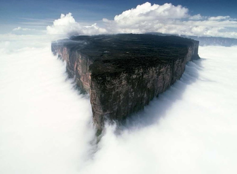 Tepui Roraima courtesy National geographic