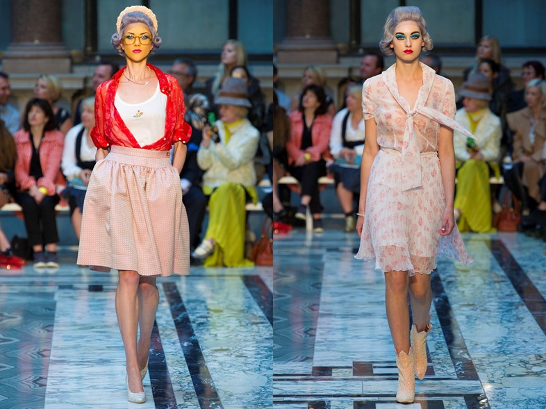 Vivienne Westwood Red Label S/S13