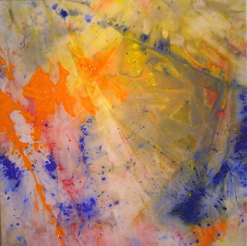 Sam Gilliam, A Spring Thaw