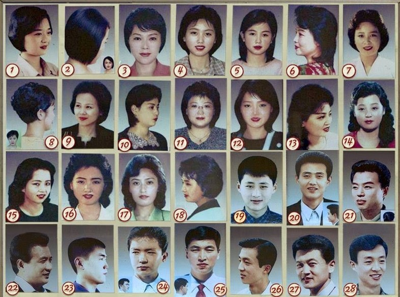Approved North Korean hairstyles