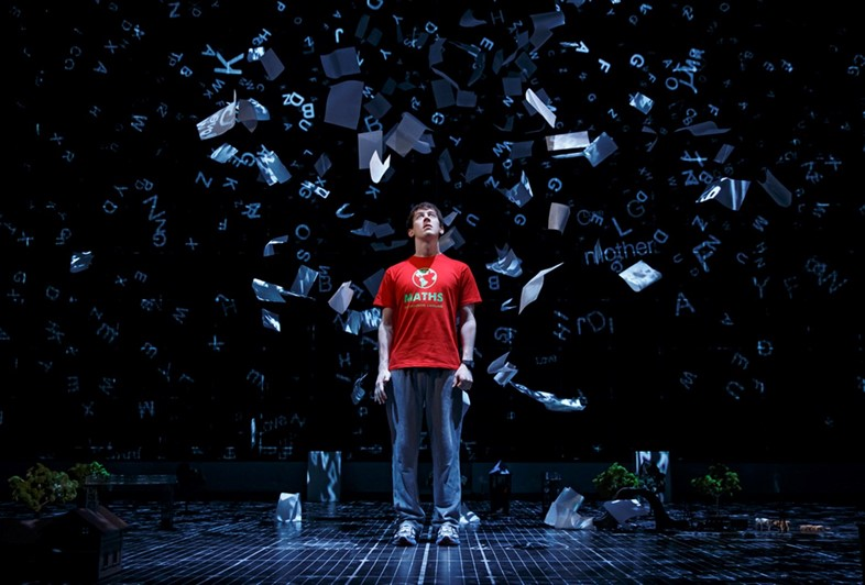 Alex Sharp in The Curious Incident of The Dog in The Night
