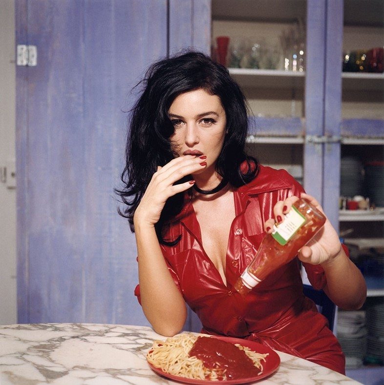 Breakfast With Monica Bellucci, November 1995