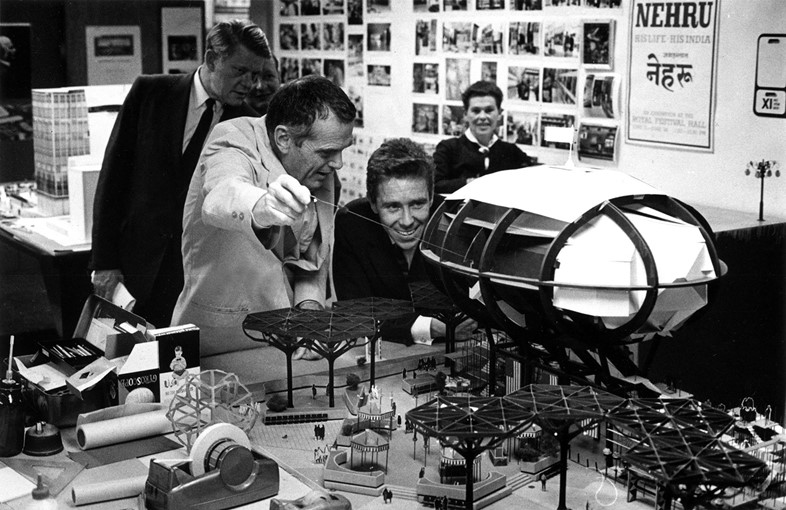 13. The World of Charles and Ray Eames. Charles sh