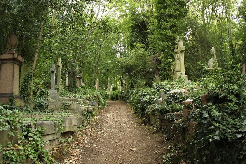 Highgate_Cemetery_East WIki Commons
