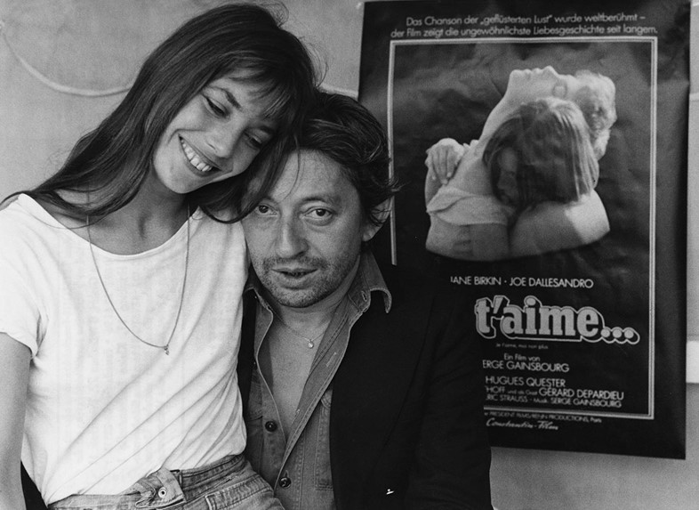 9fba47d2b07b Serge Gainsbourg with Jane Birkin in Munich to promote the film  Je  t aime... moi non plus