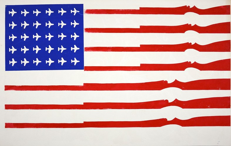 1.-American-Flag-[Untitled],-1970,-Courtesy-Shaper