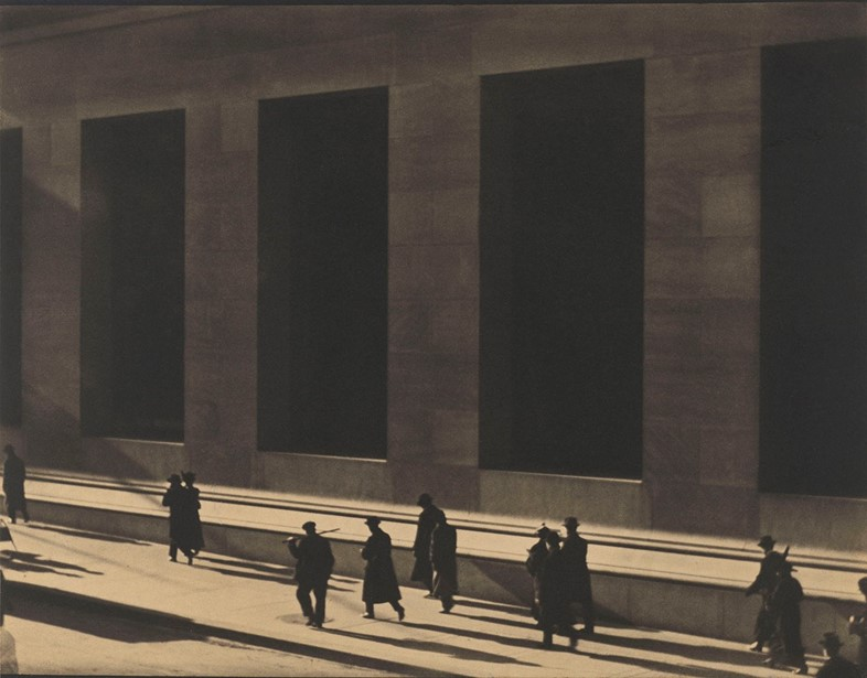 Paul Strand (1890-1976), Wall Street, New York, 19