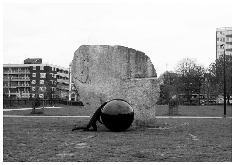 Black Marble, London, No.5 by Tom Lovelace