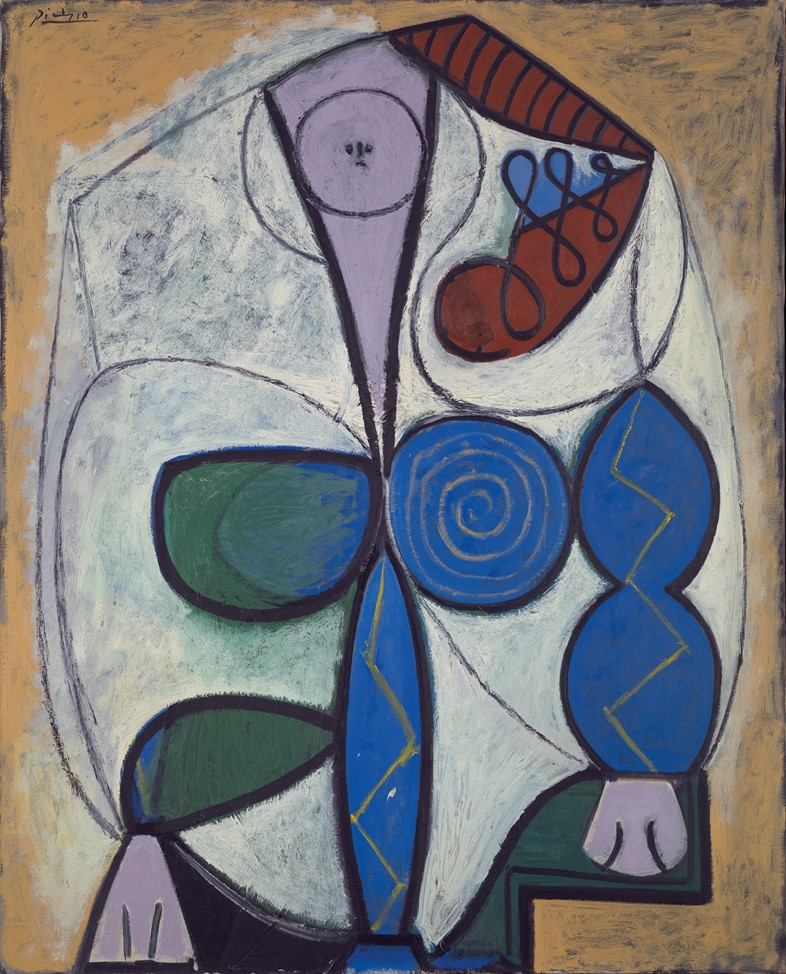 Pablo Picasso, Femme Assise, 1947