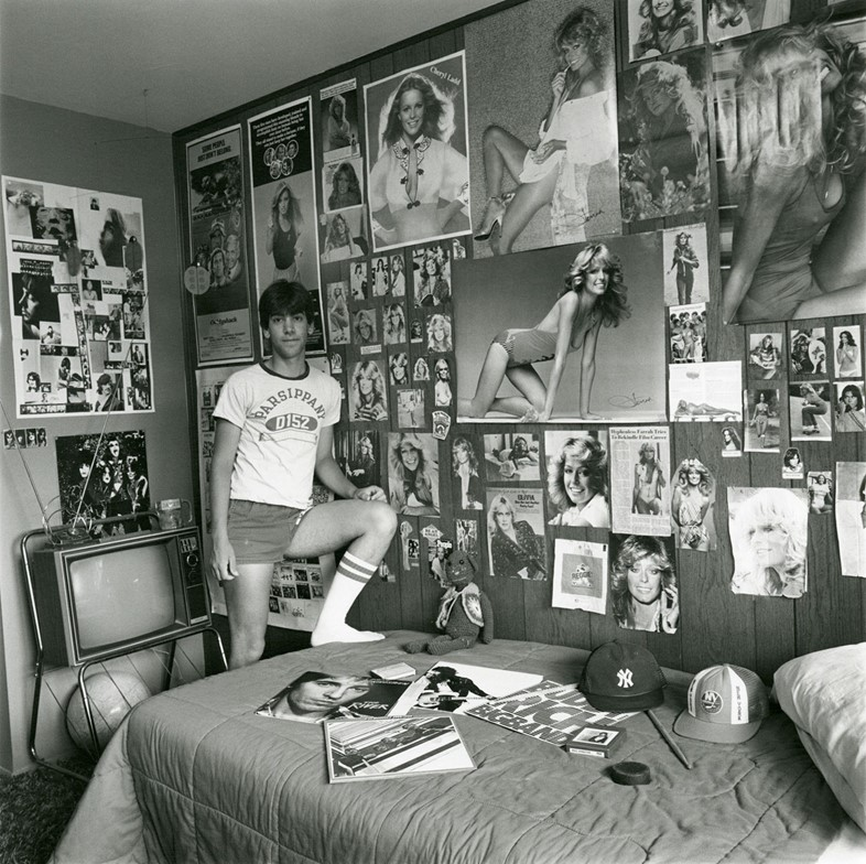 Linda-Brooks,-David-in-his-Room,-vintage-gelatin-s