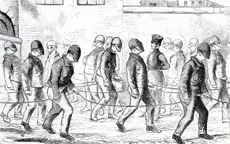 Convicts-exercising-in-Pentonville-Prison-copyrigh