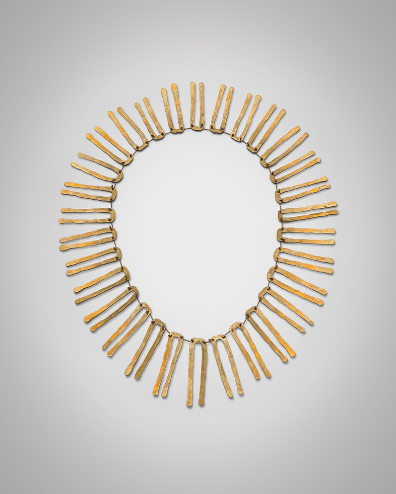 Alexander Calder, Brass Necklace, c. 1940, bass wi