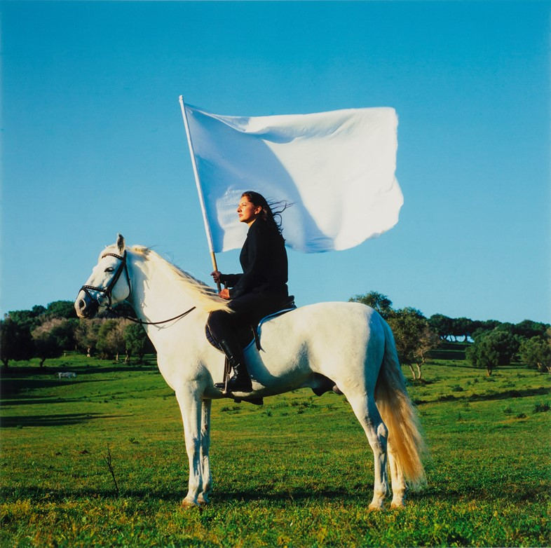 Marina Abramović, The Hero, 2001
