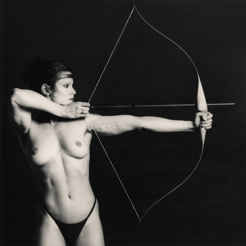 Lot 17 Robert Mapplethorpe, Bow and Arrow (est. £6