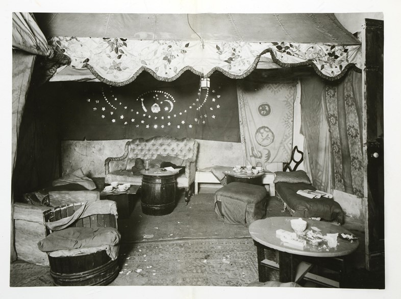 The Caravan club, Crown copyright courtesy of The