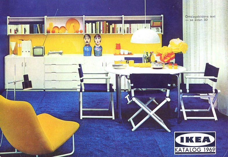 Interiors Inspiration Courtesy Of Vintage Ikea Catalogues