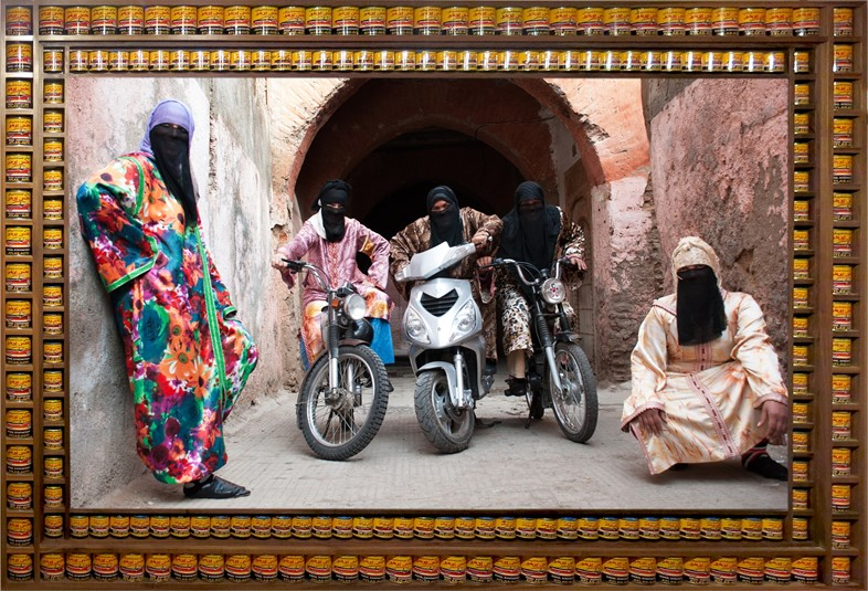 SummerExhibitionHassan Hajjaj_Henna Bikers
